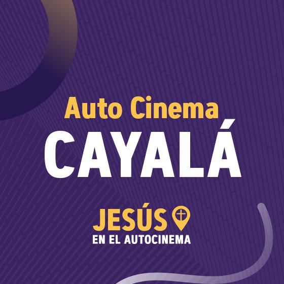 Servicio Dominical – Auto Cinema Cayalá – 25/Oct